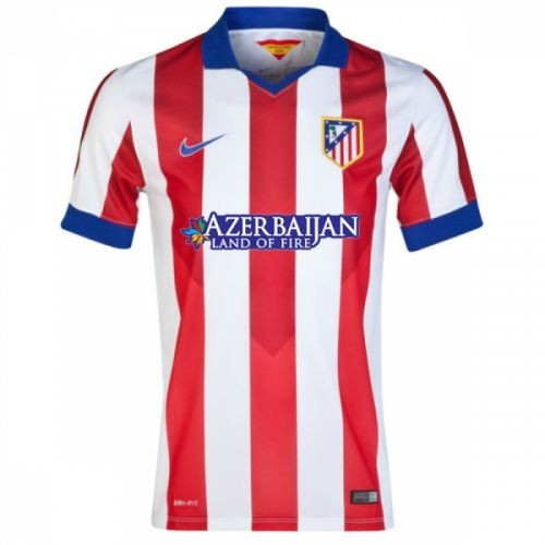 Футбольная форма для детей Atletico Madrid Домашняя 2014 2015 лонгслив (рост 100 см)